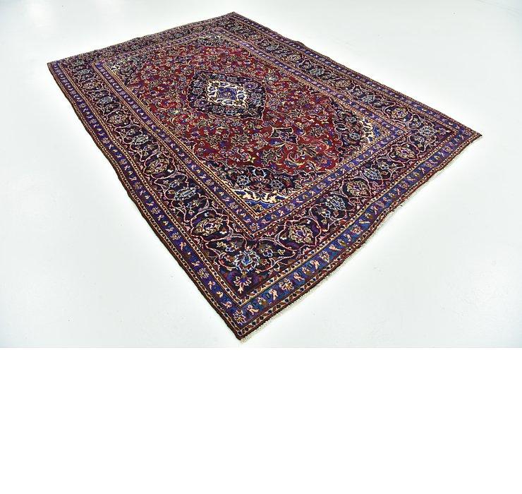 6' 4 x 9' 1 Kashan Persian Rug