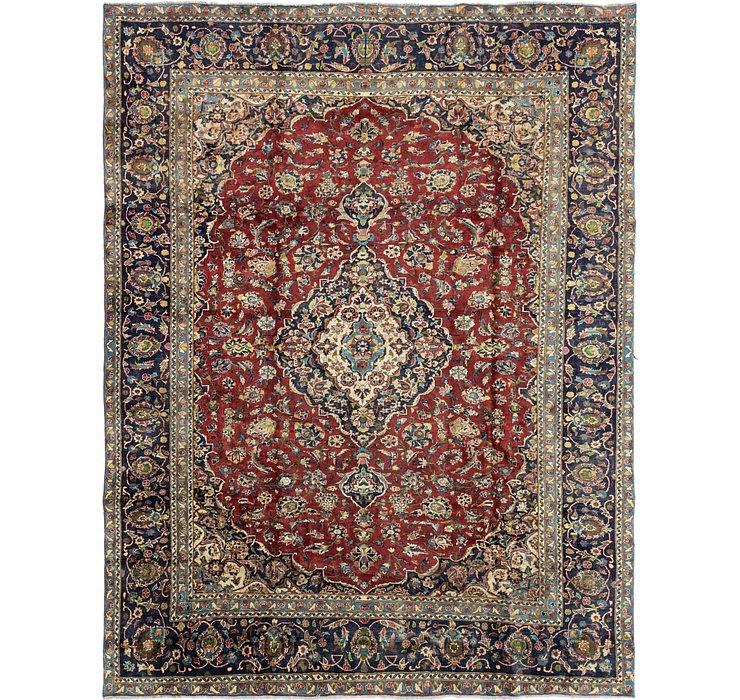 9' 7 x 12' 2 Kashan Persian Rug