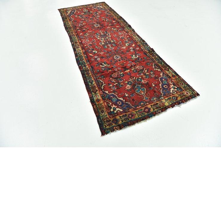 3' 8 x 9' 9 Nanaj Persian Runner Rug