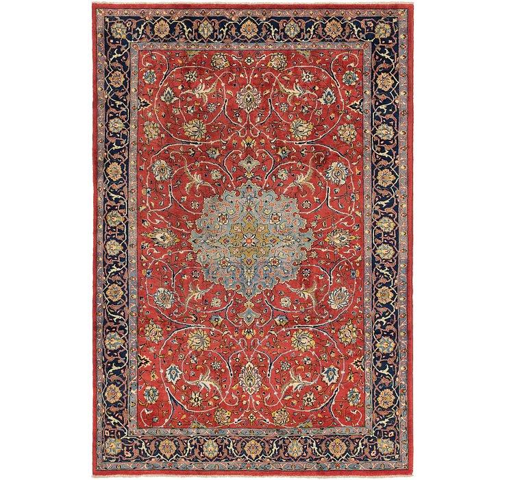 270cm x 390cm Mahal Persian Rug