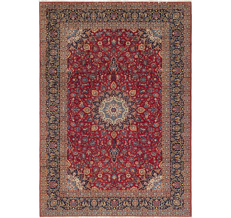9' 9 x 13' 10 Isfahan Persian Rug