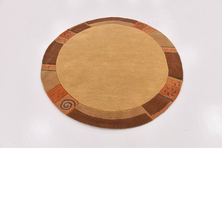147cm x 152cm Tibet Round Rug