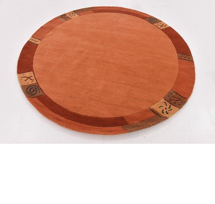 6' 4 x 6' 4 Nepal Round Rug