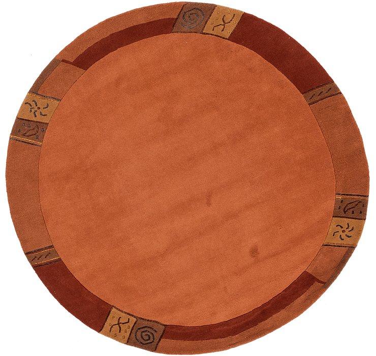 198cm x 205cm Nepal Round Rug