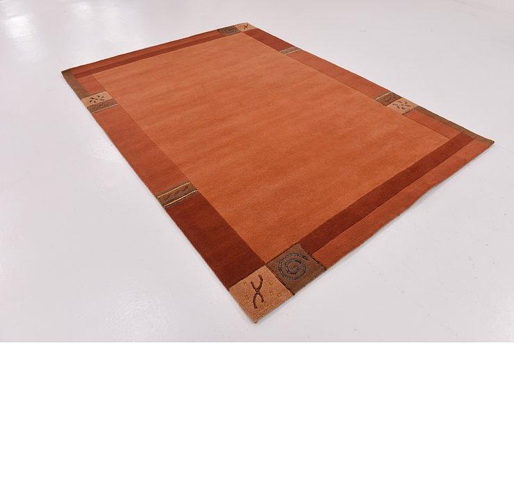 5' 9 x 8' Indo Tibet Rug
