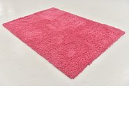 Link to 5' 3 x 7' 6 Solid Shag Rug