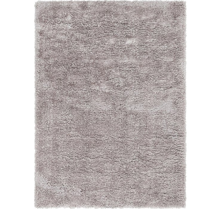 5' 5 x 7' 7 Luxury Solid Shag Rug