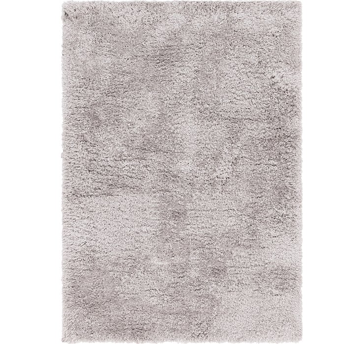 5' 5 x 7' 8 Luxe Solid Shag Rug