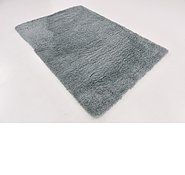 Link to 5' 4 x 7' 8 Solid Shag Rug