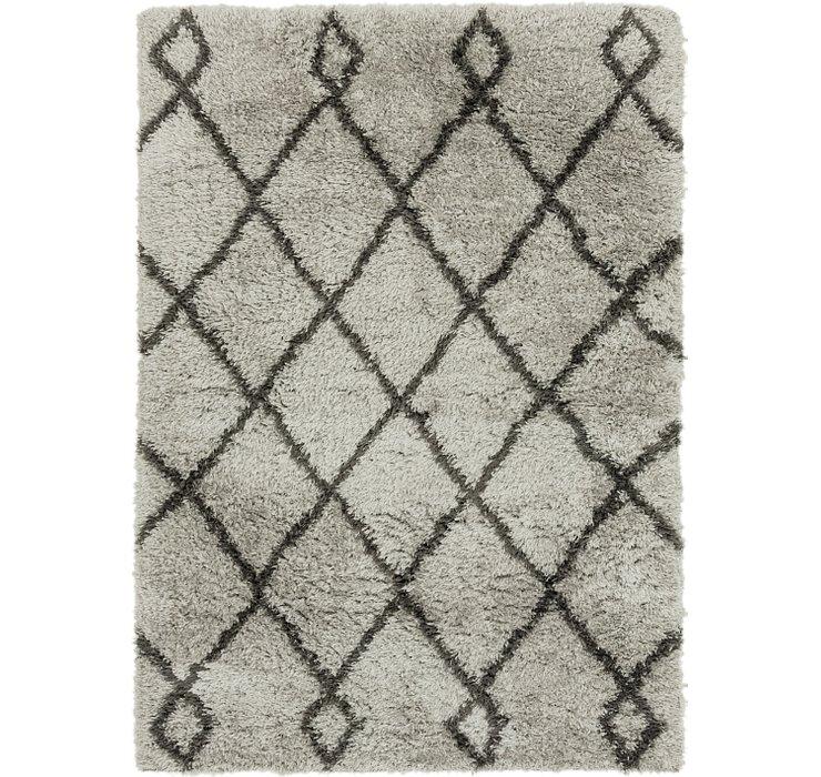 5' 4 x 7' 8 Textured Shag Rug