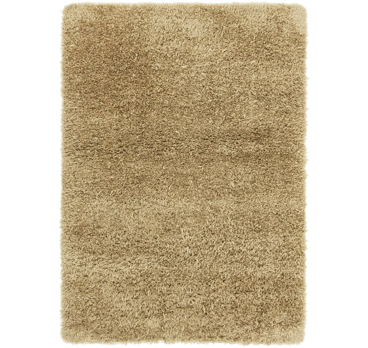 5' 4 x 7' 7 Luxe Solid Shag Rug