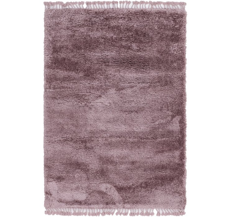 160cm x 230cm Luxe Solid Shag Rug