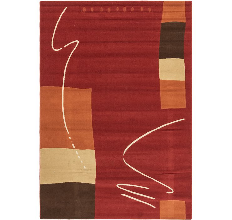 6' 7 x 9' 5 Reproduction Gabbeh Rug