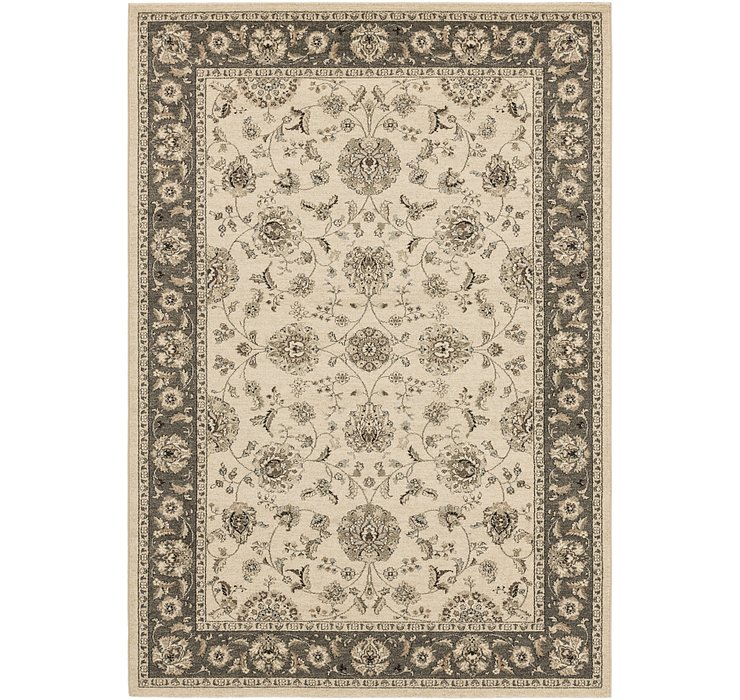 6' 7 x 9' 5 Kashan Design Rug