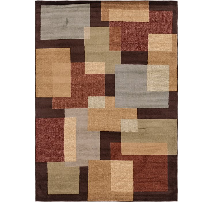 6' 7 x 9' 7 Reproduction Gabbeh Rug