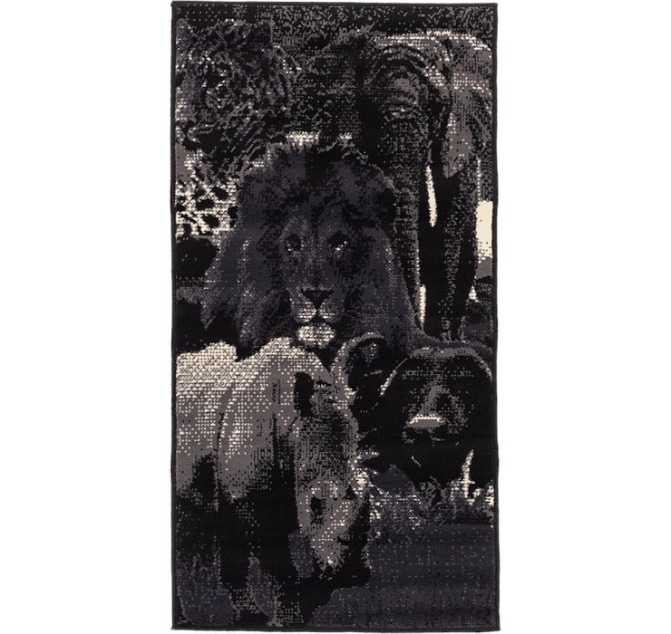 70cm x 137cm Safari Rug