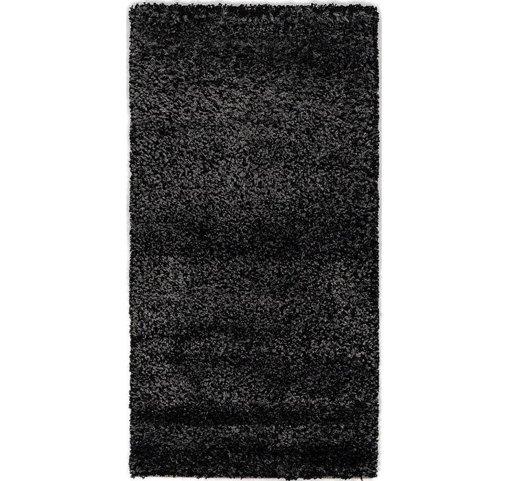 3' 3 x 4' 4 Textured Shag Rug