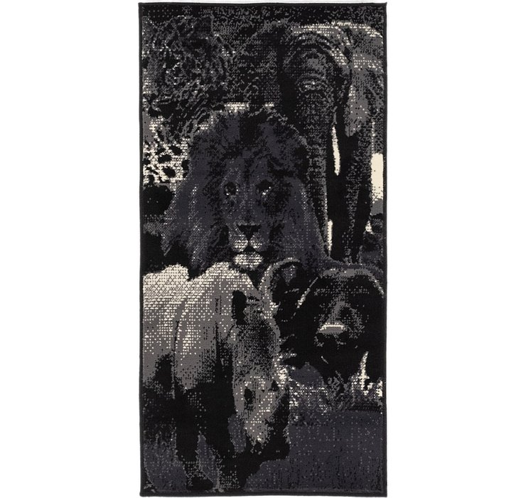 2' 4 x 4' 7 Safari Rug