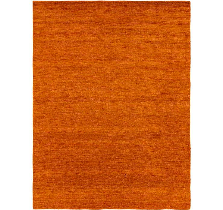 8' 2 x 11' 6 Solid Gabbeh Oriental Rug