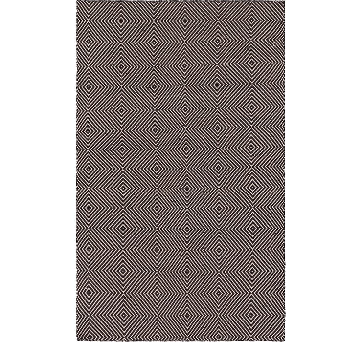 4' 9 x 8' Chindi Cotton Rug