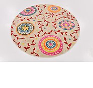 Link to 137cm x 140cm Florence Round Rug