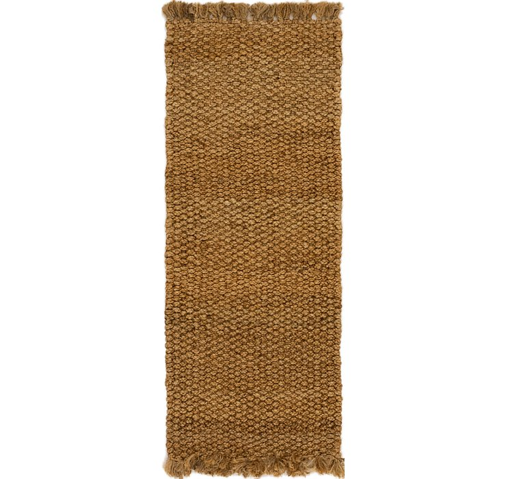 3' x 8' Braided Jute Runner Rug