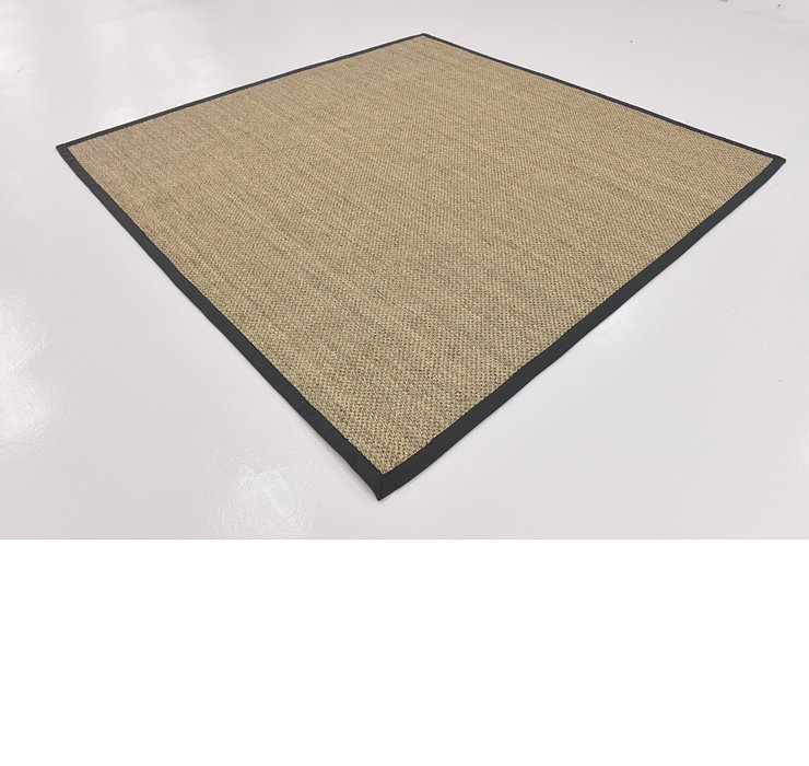 7' 10 x 7' 10 Sisal Seagrass Square Rug