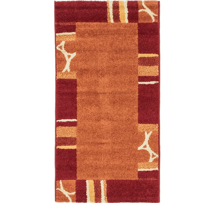 2' 2 x 4' 3 Reproduction Gabbeh Rug