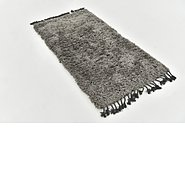 Link to 80cm x 152cm Luxe Solid Shag Rug