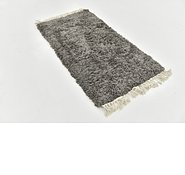Link to 80cm x 157cm Solid Shag Rug