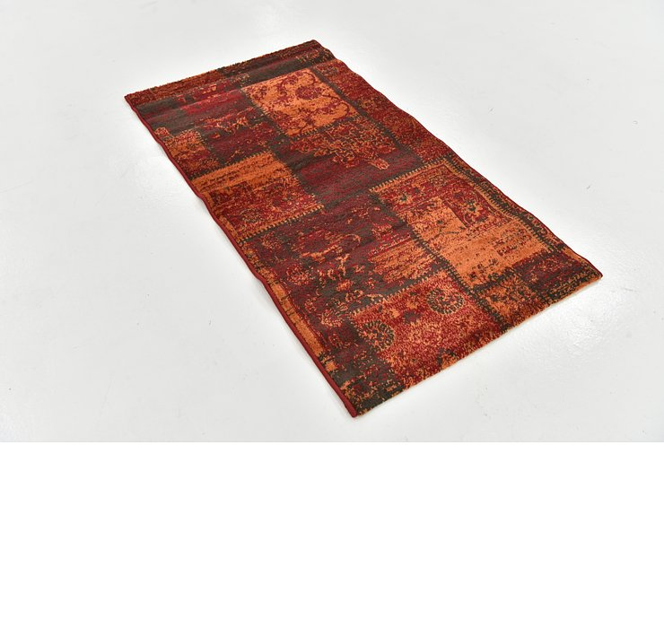 2' 8 x 4' 10 Reproduction Gabbeh Rug