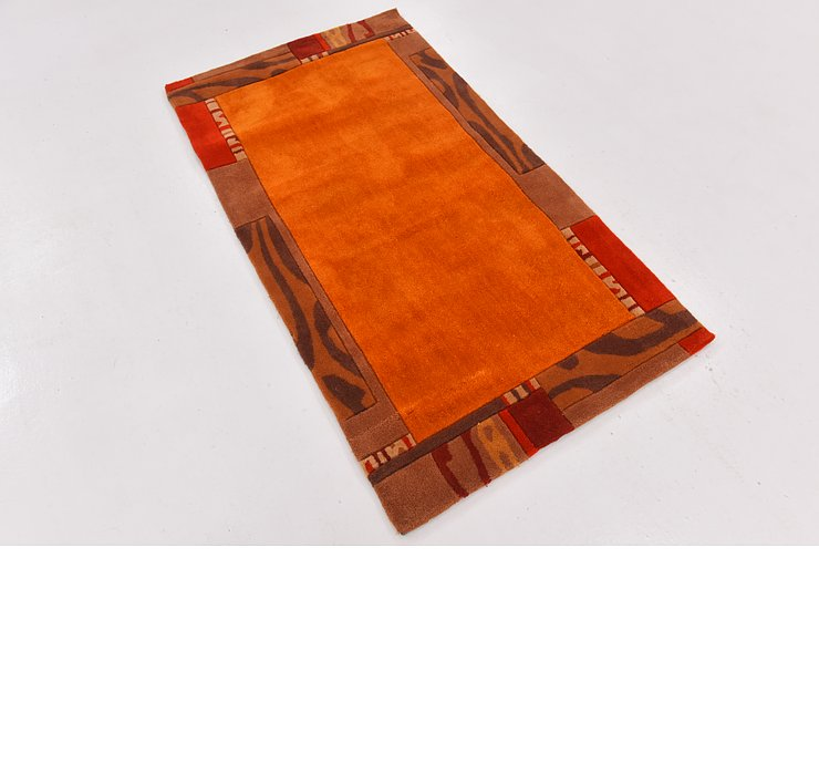 2' 10 x 5' Reproduction Gabbeh Rug