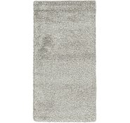 Link to 70cm x 132cm Solid Shag Rug