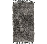 Link to 85cm x 152cm Luxe Solid Shag Rug