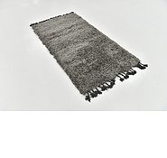 Link to 80cm x 152cm Solid Shag Rug