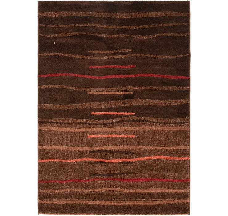3' 10 x 5' 6 Reproduction Gabbeh Rug