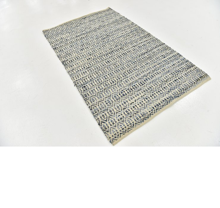 3' 9 x 6' Braided Chindi Rug
