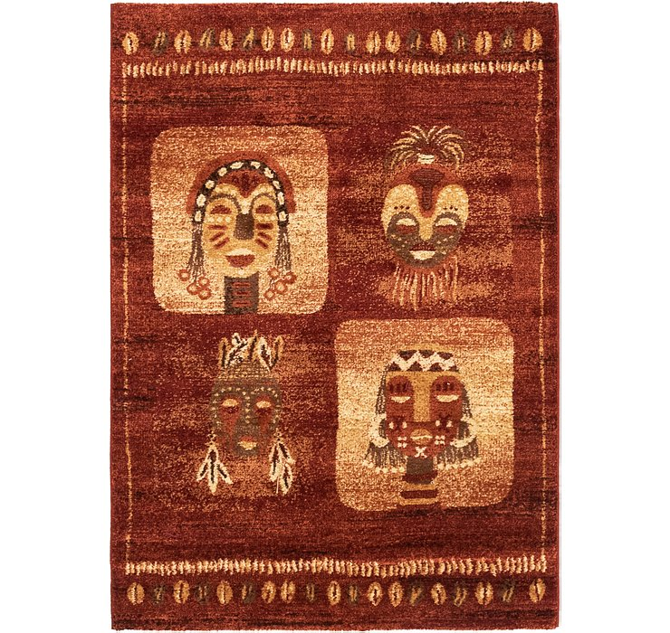 122cm x 168cm Reproduction Gabbeh Rug