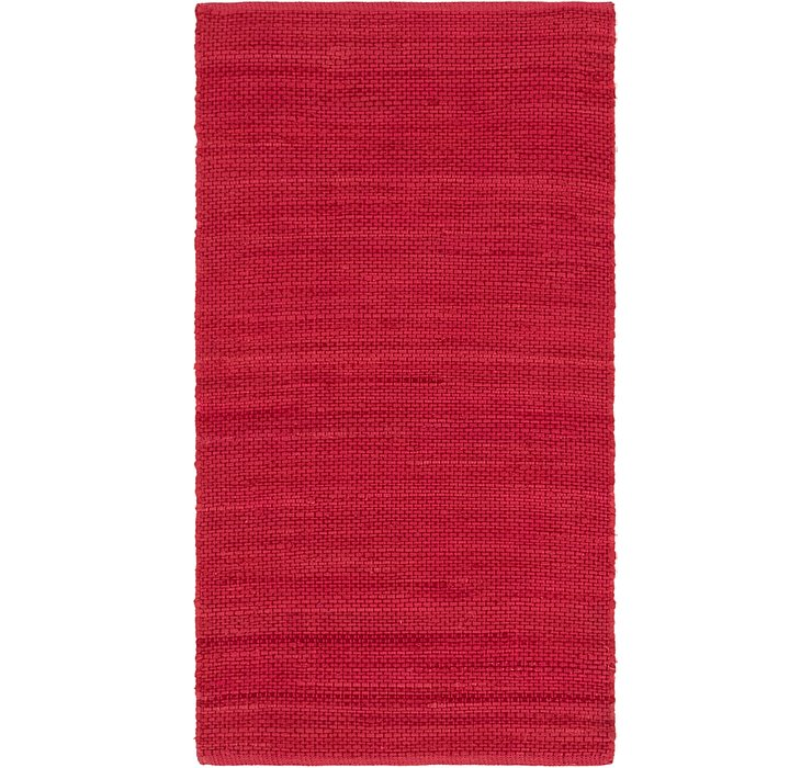 2' 8 x 5' Chindi Cotton Rug