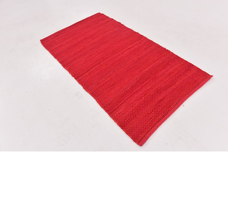 2' 9 x 4' 10 Chindi Cotton Rug