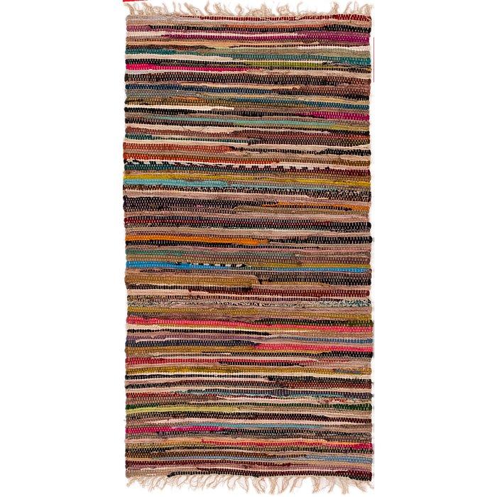 2' 5 x 4' 7 Chindi Cotton Rug