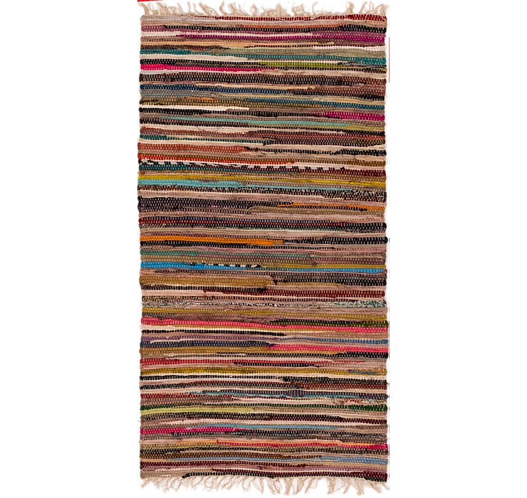 75cm x 140cm Chindi Cotton Rug