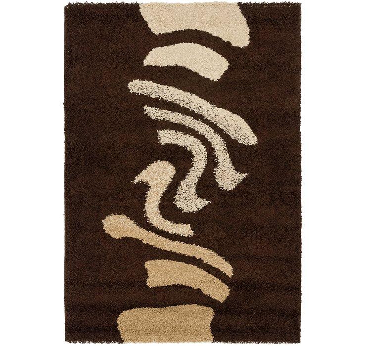 4' x 5' 8 Textured Shag Rug