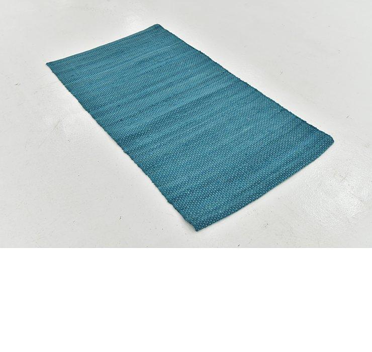 2' 8 x 4' 9 Chindi Cotton Rug