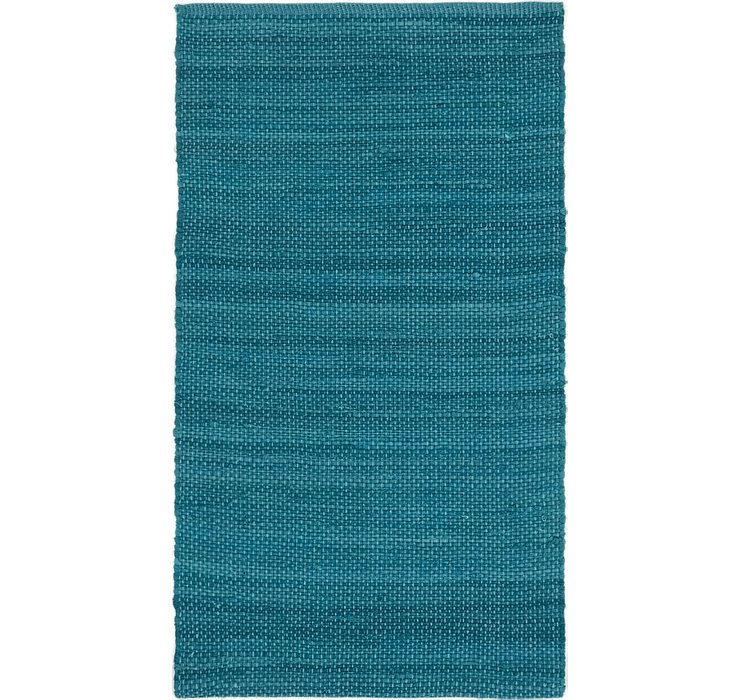 2' 8 x 4' 9 Chindi Cotton Rug