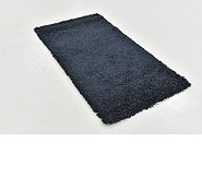 Link to 80cm x 178cm Solid Shag Rug