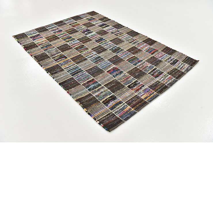 4' 8 x 6' 9 Chindi Cotton Rug