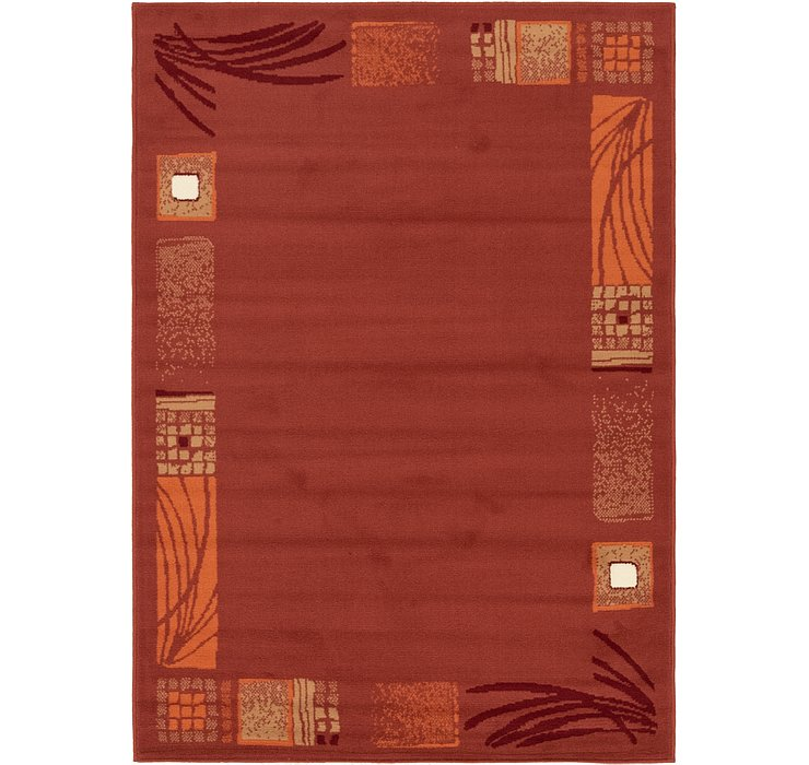 3' 10 x 5' 7 Reproduction Gabbeh Rug