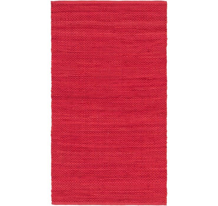 2' 9 x 5' Chindi Cotton Rug