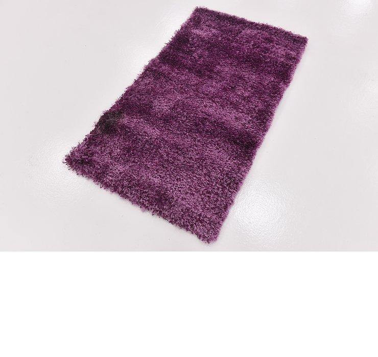 2' 8 x 4' 9 Textured Shag Rug